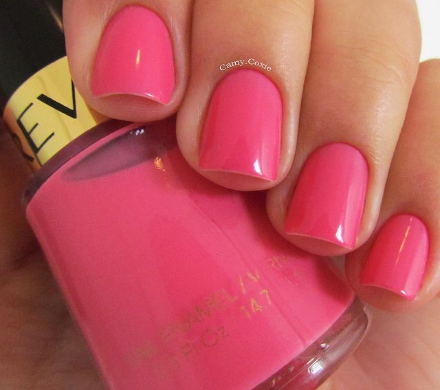 Revlon Nail Enamel In Sweet Tart- This Is Always The Color