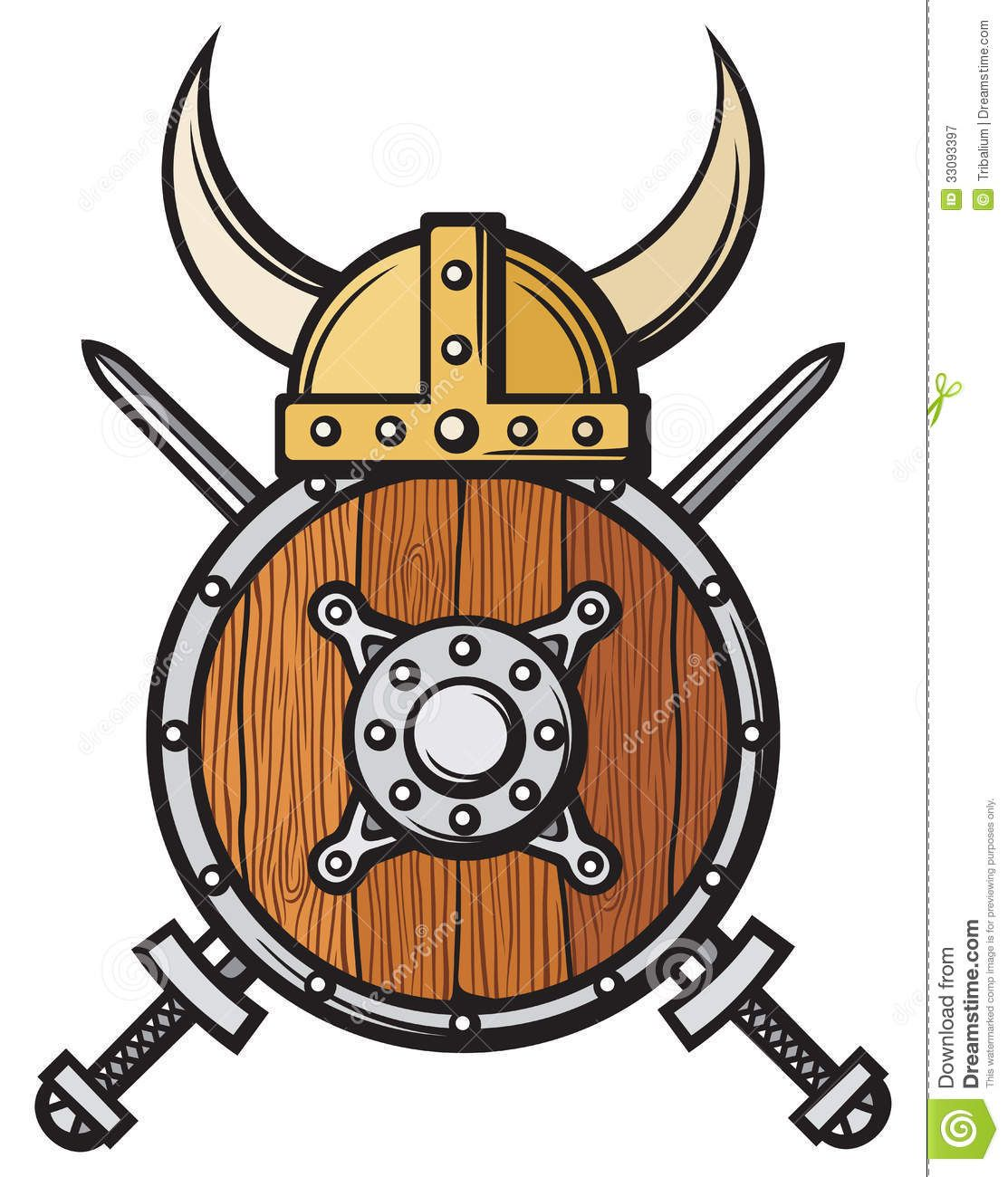small resolution of viking helmet royalty free stock photography image 33093397
