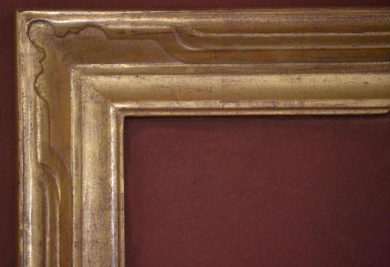 C 685 Hand Carved Plein Air 22 Karat Genuine Gold Leaf In 2020 Plein Air Frame Hand Carved Gold Leaf