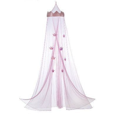 Hang This Princess Bed Canopy Over Any Royally Cute Child S Bed To Make Bedtime Exciting This Ado Pink Princess Bedding Princess Canopy Bed Girls Bed Canopy