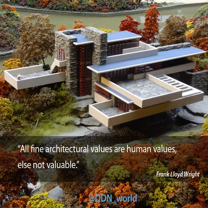 Architecture Design Values all fine architectural values are human values, else not valuable
