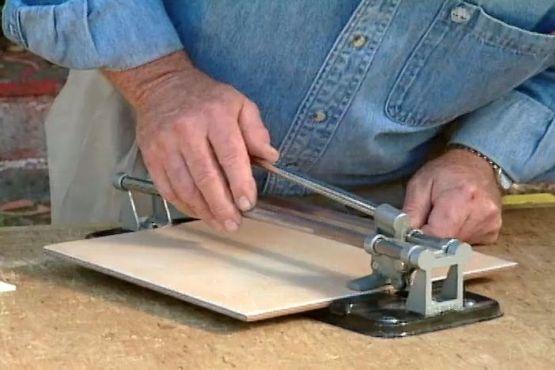 How To Lay Ceramic Tile On A Laminate Countertop Ron Hazelton