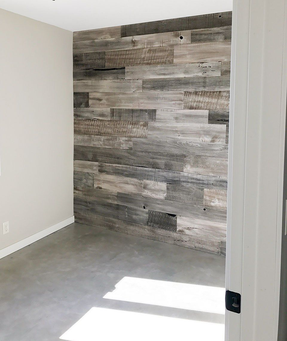 Best Wood Accent Wall Ideas To Make Any Spaces Warmth Basement Makeover Bedroom Makeover Diy Rustic Industrial