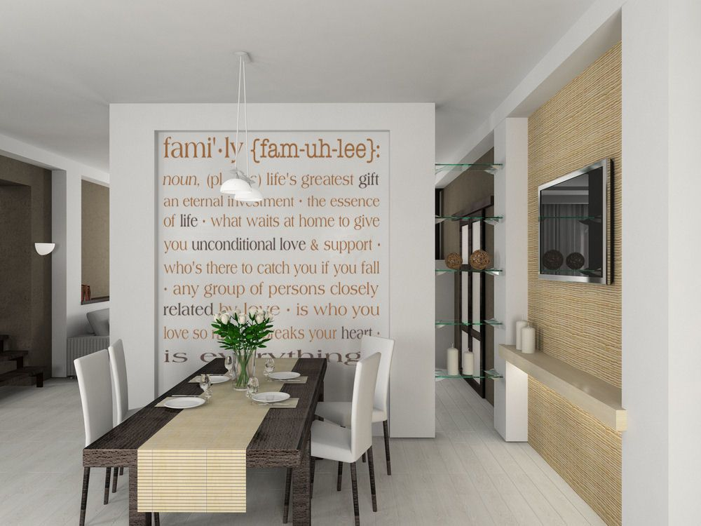 Family Definition II Large Wall Decals CLONE