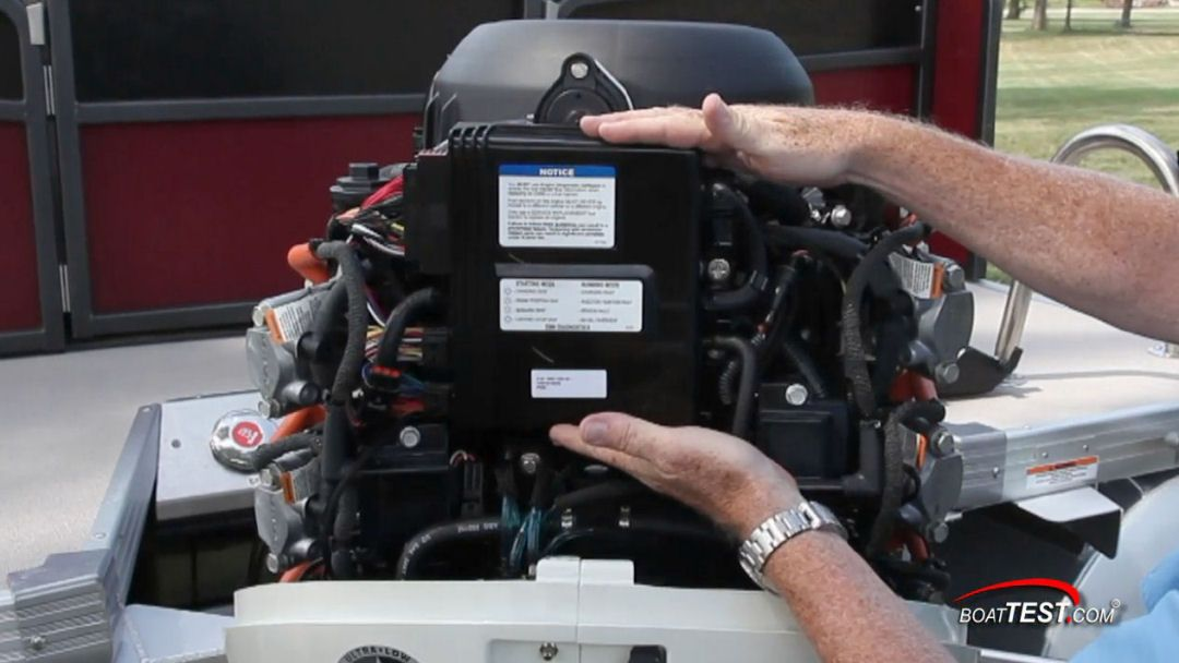 Evinrude E-TEC 250 H O : The EMM or Engine Management Module works