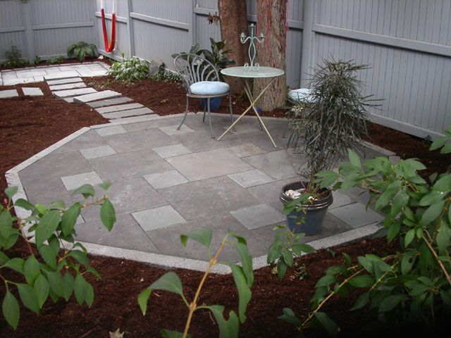 Octagon Deck Landscaping   Google Search
