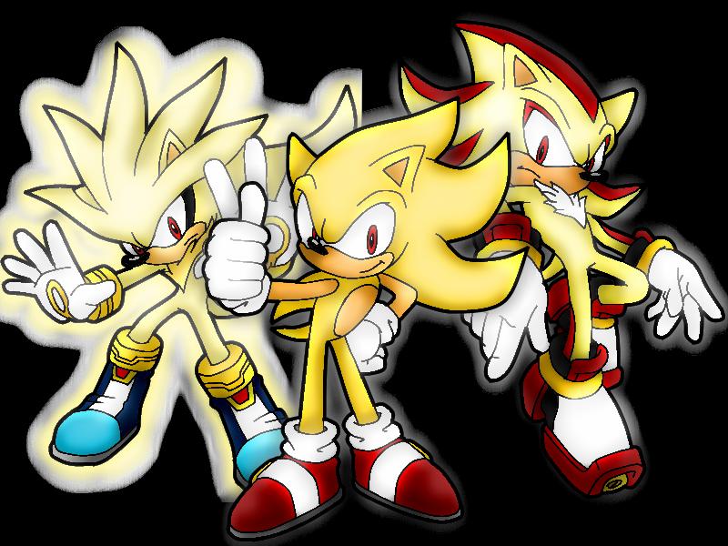 Random Sonic Girls And Boys Wallpaper Shadow Silver