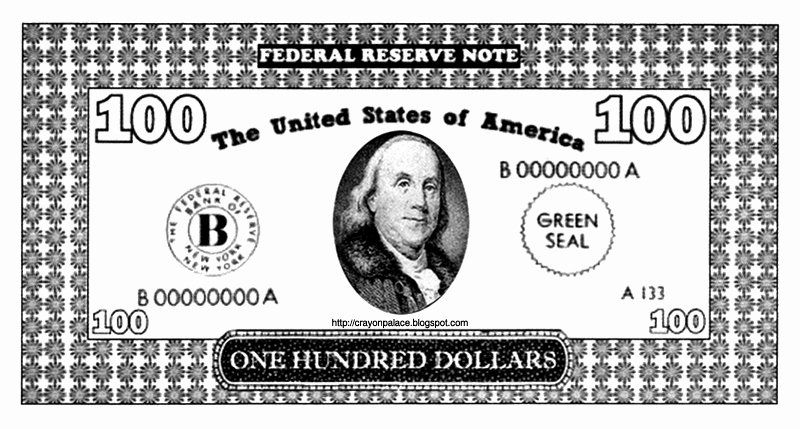Dollar Bill Coloring Page Best Of 100 Dollar Bill Coloring Pages In 2020 Dollar Bill Coloring Pages Football Coloring Pages