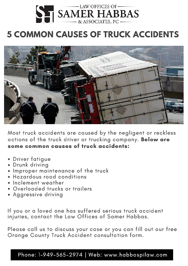 Orange County Truck Accident Attorney - Injury Lawyer   Auto