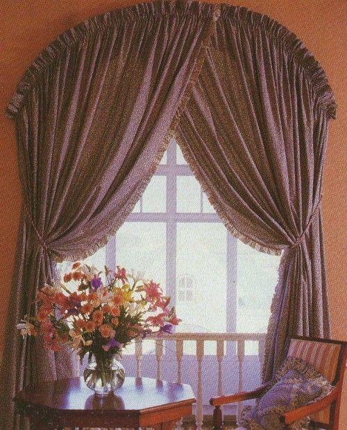Cortinas para ventanas en arco, ventanas que no deberían vestirse - cortinas para ventanas