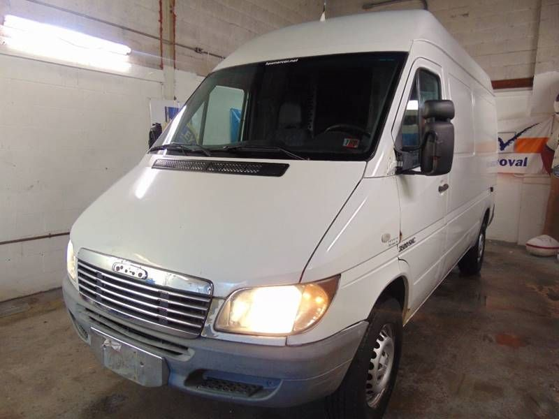 This 2005 Dodge Sprinter Cargo 2500 High Roof 140 Wb Is Listed On