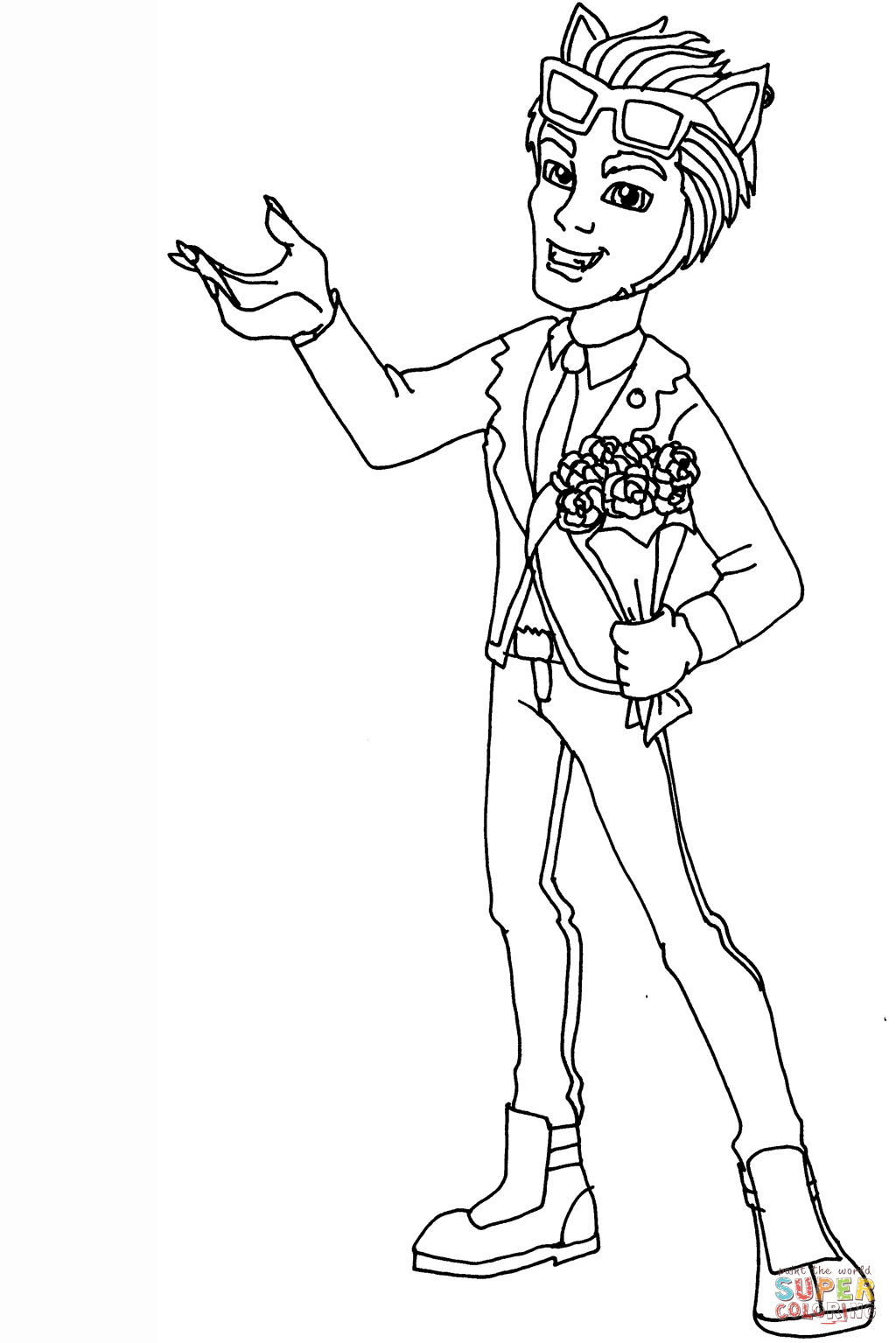 Wolf Super Coloring Pages Portraits