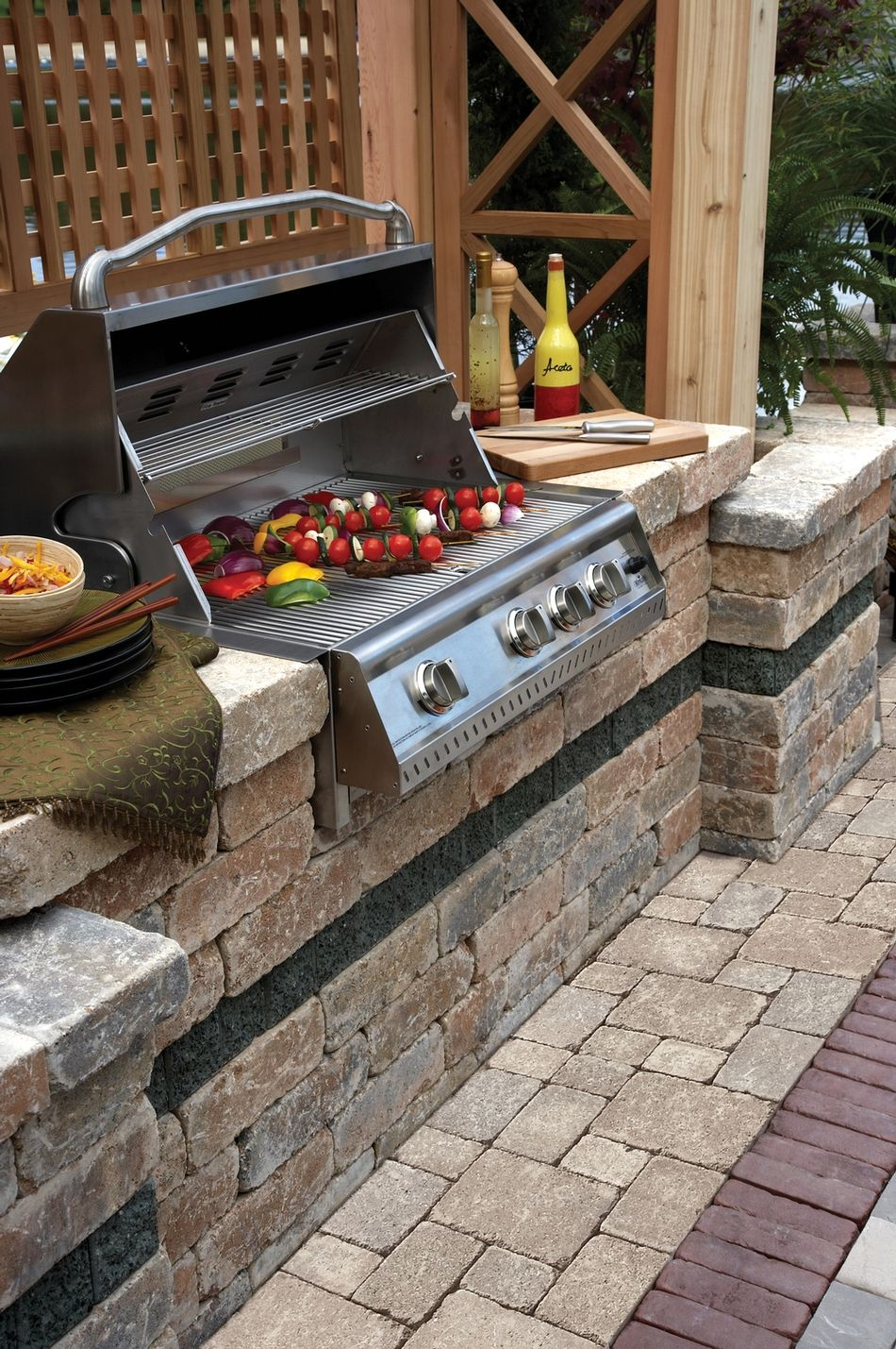 Brussels Dimensional™ BBQ Grill Island Our Outdoor Kitchens Offer Function,  Beauty, And Are