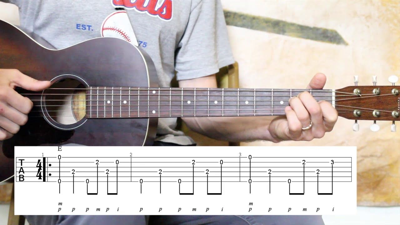 how to fly sticky fingers guitar tabs