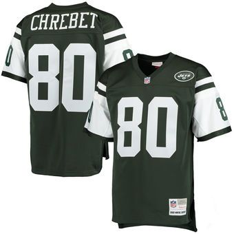 8ce56e7903b Wayne Chrebet New York Jets Mitchell   Ness Retired Player Replica Jersey -  Green