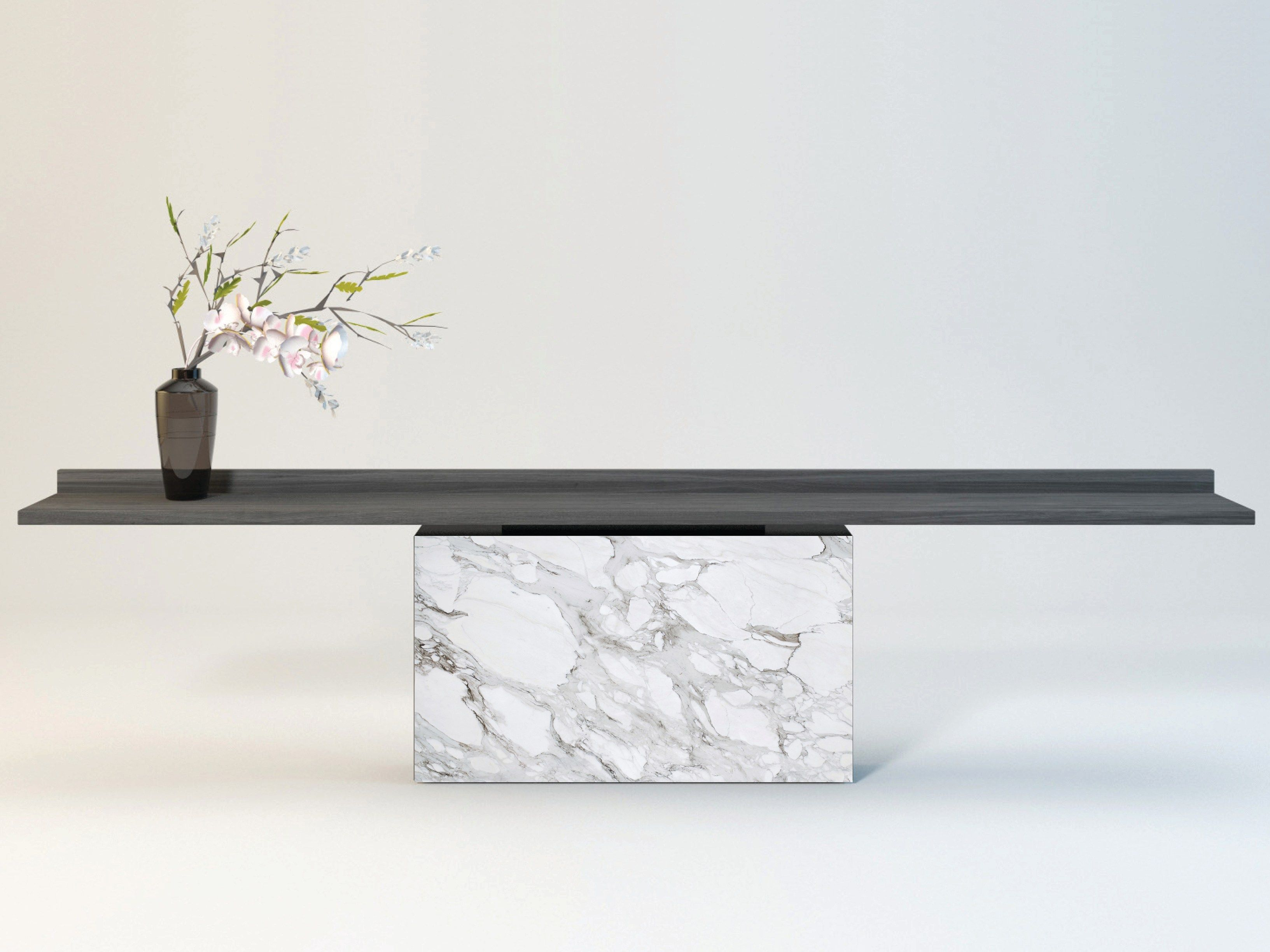 Rectangular Console Table Latitude By Enne Design Christophe