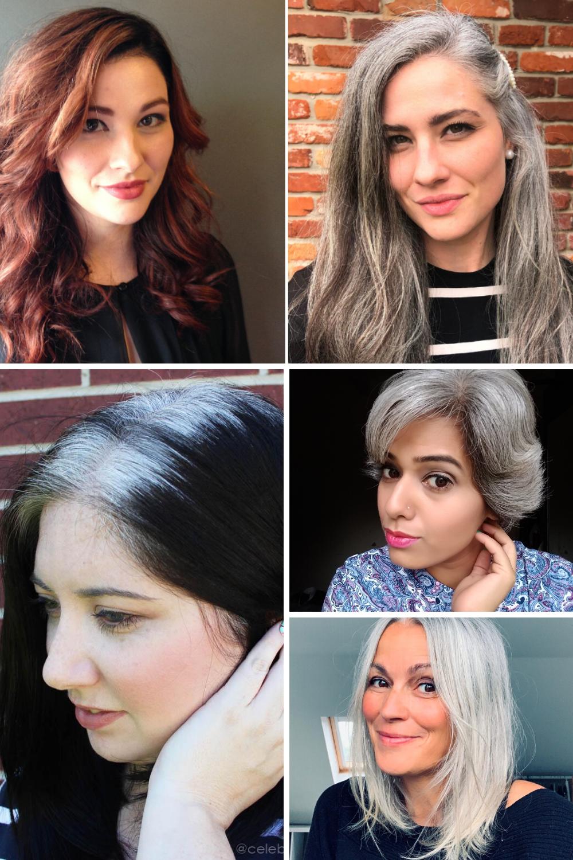 Gray Hair Inspirational Blog for Natural Silver Hair