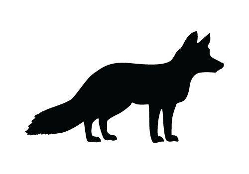 Fox Vector Graphics Dree Download Fox Silhouette Fox Silhouette Animal Silhouette Silhouette Art