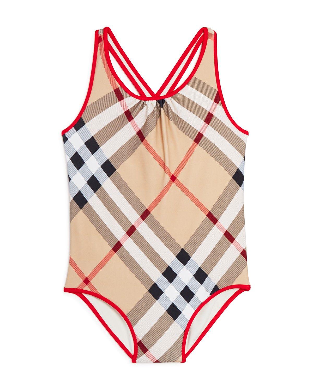 burberry girls swim