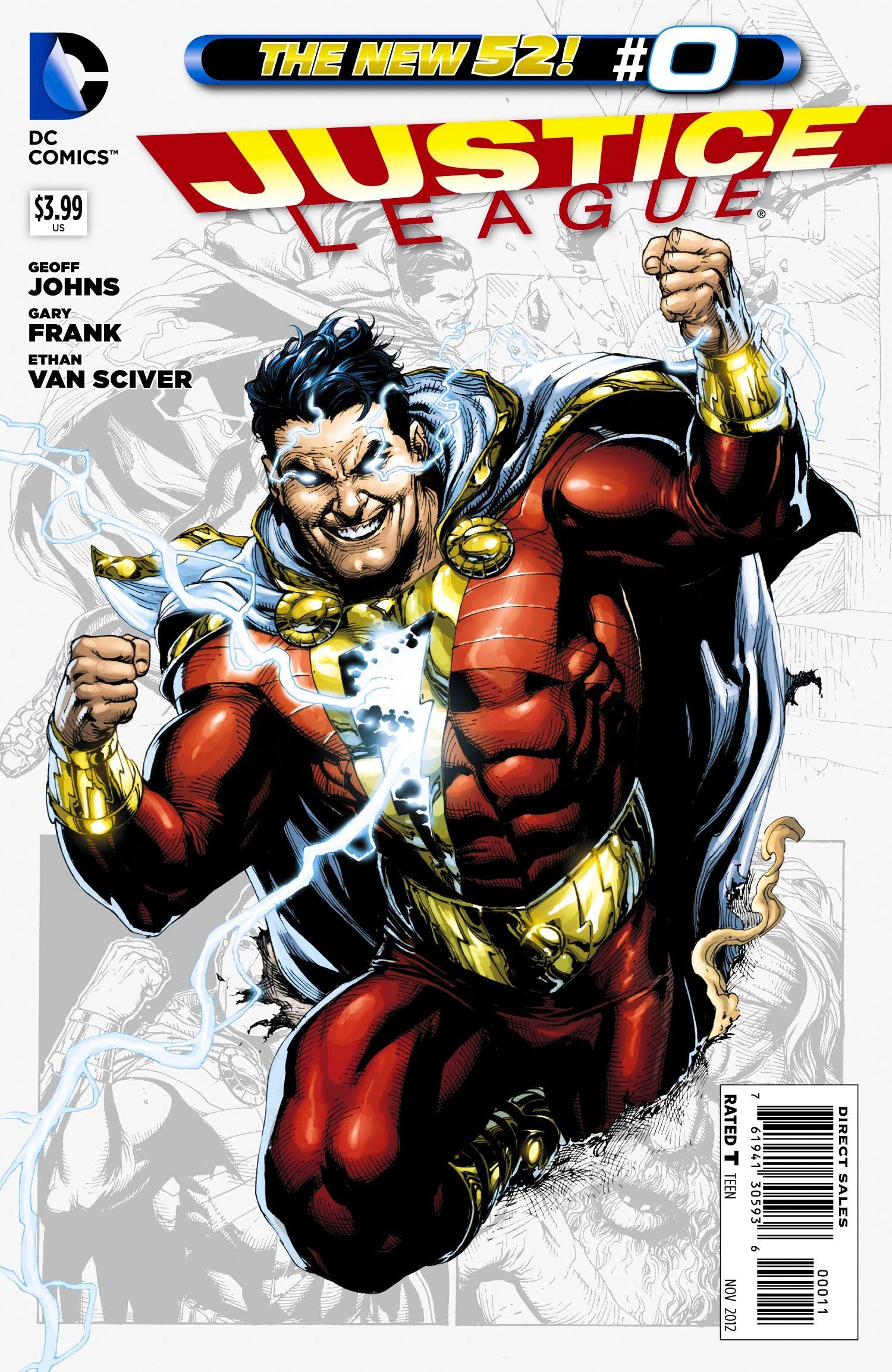 captain marvel new 52 powers