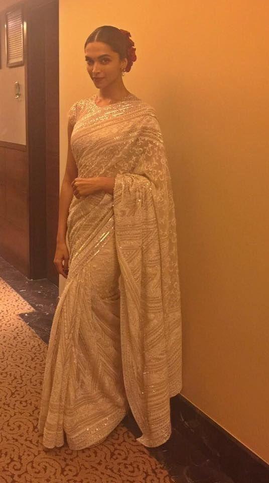 Pin by Rashmi on Miss Saree   Deepika padukone, Indian ...