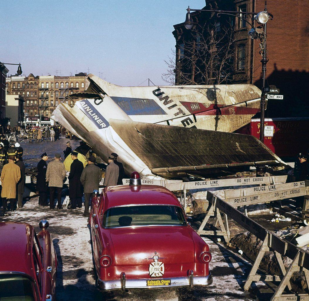Brooklyn, 1960. Park Slopes air crash. That plane crash