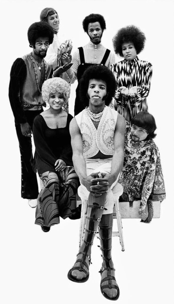 Sly & The Family Stone  Sly was way,way before his time. . .