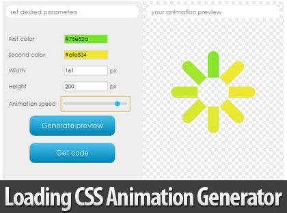Learn css animation generator