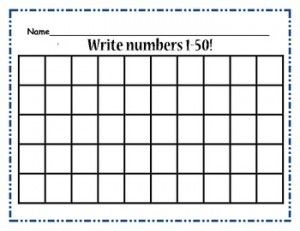 Writing Numbers Worksheet 1 100 Crystal Hoffman Handwriting Writing Numbers Kids Math Worksheets Writing