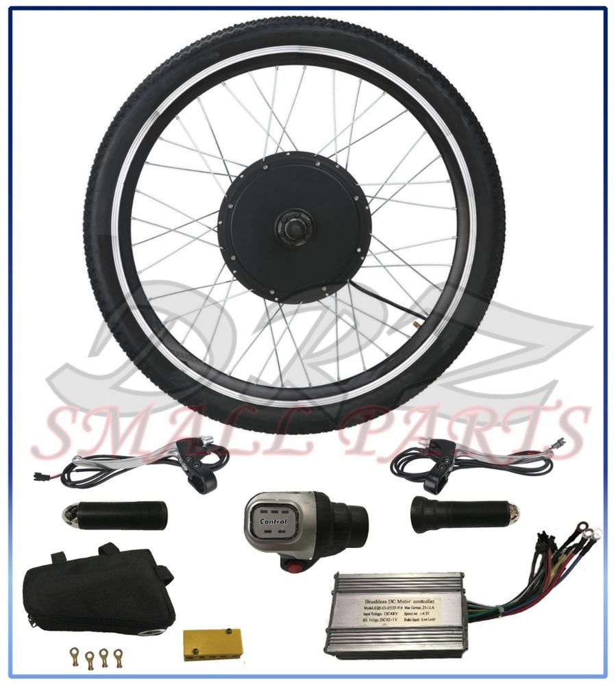 Rear Wheel Hub 48v 1000w Bicycle Motor Converts To Electric Kit 26 Inch Cycle Electric Bicycle Electric Bicycle Kit Bicycle