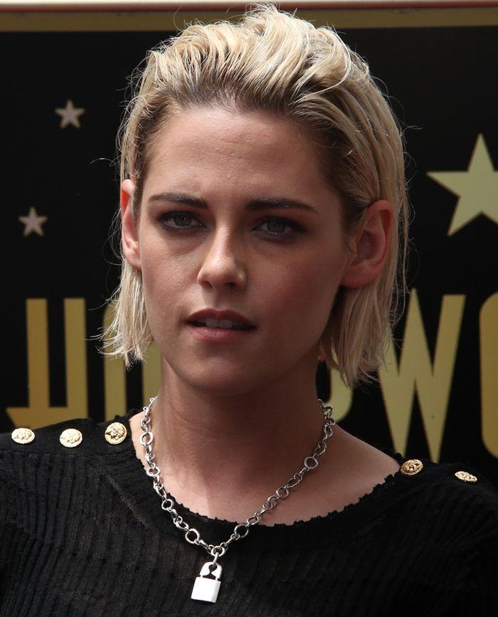 Kristen Stewart Wearing A Jillian Dempsey Punk Lock