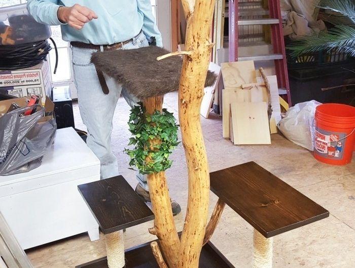 kratzbaum selber bauen 67 ideen und bauanleitungen pinterest kratzbaum. Black Bedroom Furniture Sets. Home Design Ideas