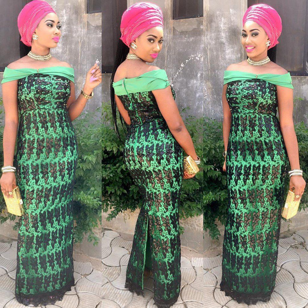 Ghana lace dress styles  From lace to chiffon to colors this seasonus AsoEbi outfits