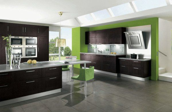 Image result for grey kitchen accent wall ideas