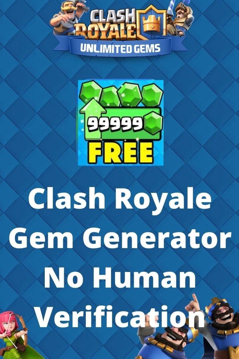 Free Gems Clash Royale No Human Verification
