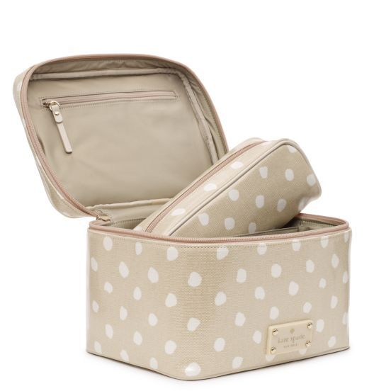 Kate Spade Cosmetic Bags On Through Saay 11 30 Hurry Reg 148 Now 59