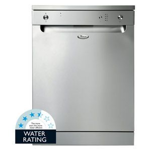 just a normal simple silver dishwasher that matches with the refrigerator. 549$