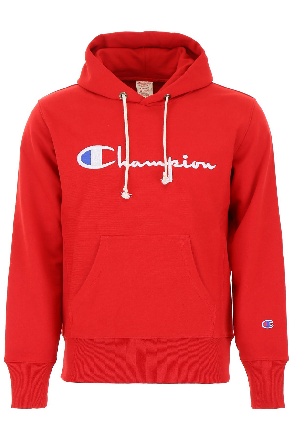 CHAMPION LARGE LOGO HOODIE. champion cloth in 2020