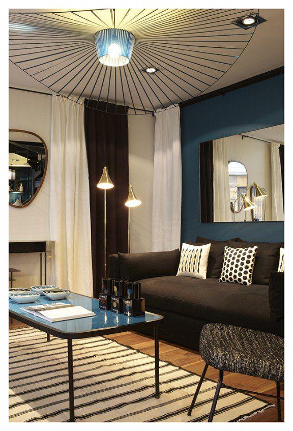 Deco Bleu Canard Idees Et Inspiration Clem Around The Corner Deco Salon Deco Bleu Canard Deco Bleue