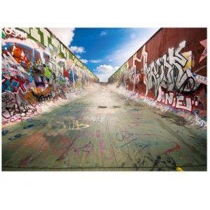 fotomural de graffitis en muros
