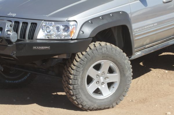 1999 Jeep Grand Cherokee Hanson Bumper With Tire Flares Photo