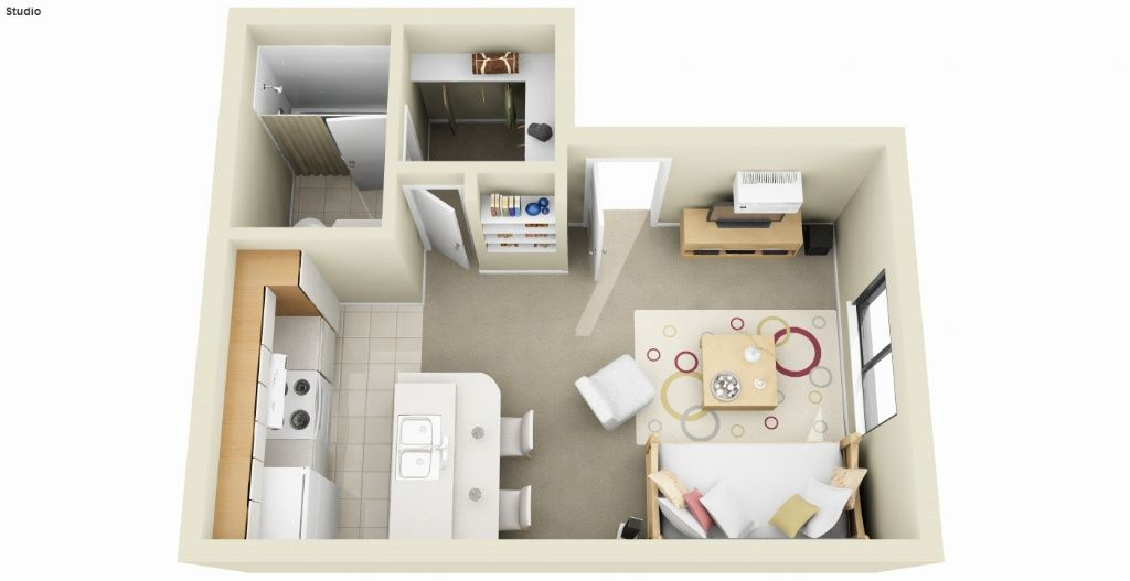 350 square foot studio apartments |  north temple salt lake