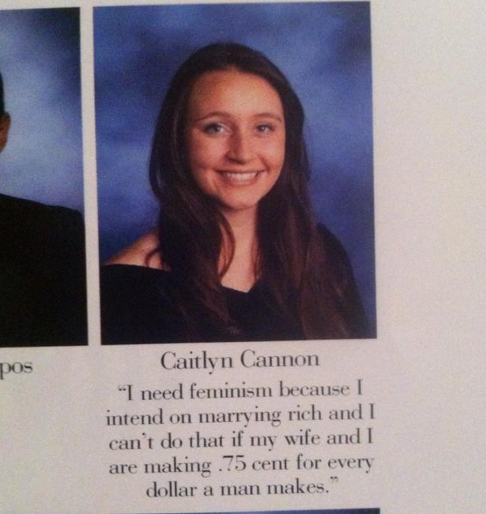 Senior Yearbook Quotes Lesbian High School Chick's Yearbook Quote Is Getting Her Hailed
