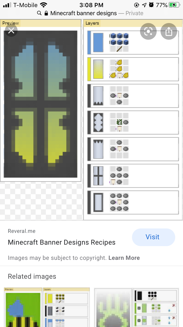 как сделать флаг с рисунком в майнкрафте #3