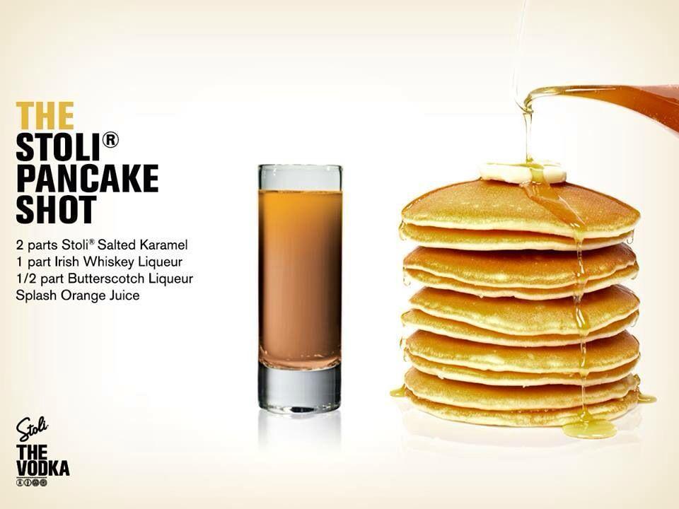 Stoli Pancake Shot