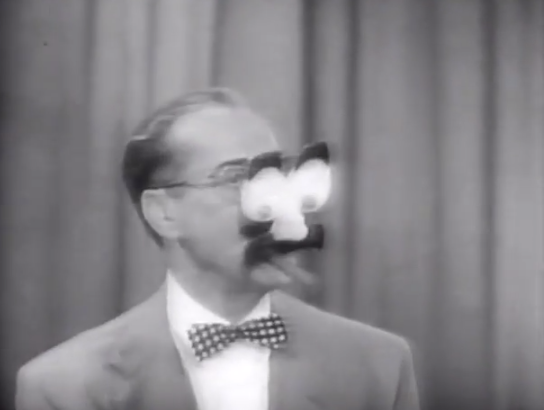 Groucho Marx Pioneer Of The Groucho Nose And Glasses Groucho Marx Groucho Comedians