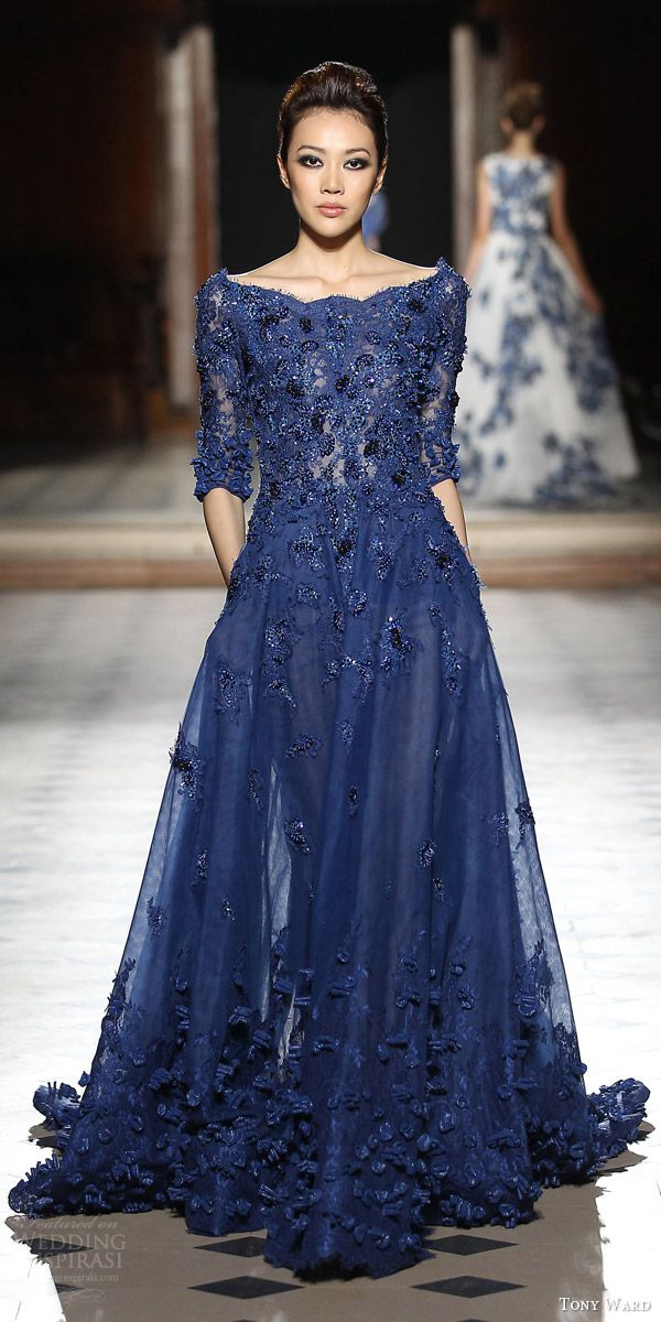 Tony Ward Fall/Winter 2015-2016 Couture Collection | Kleider ...