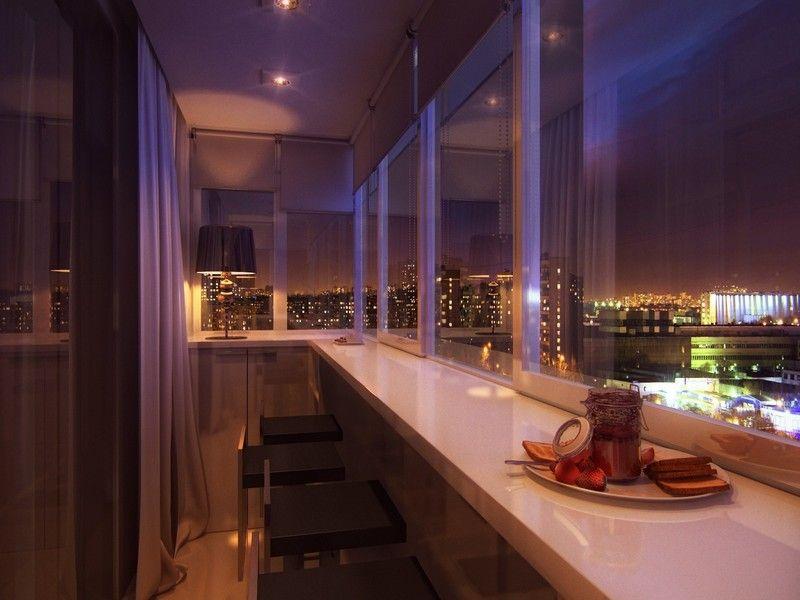 Интересные идеи и варианты оформления балкона на фото и ...
