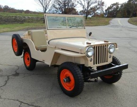 Sandrover Willys Willys Jeep Classic Jeeps