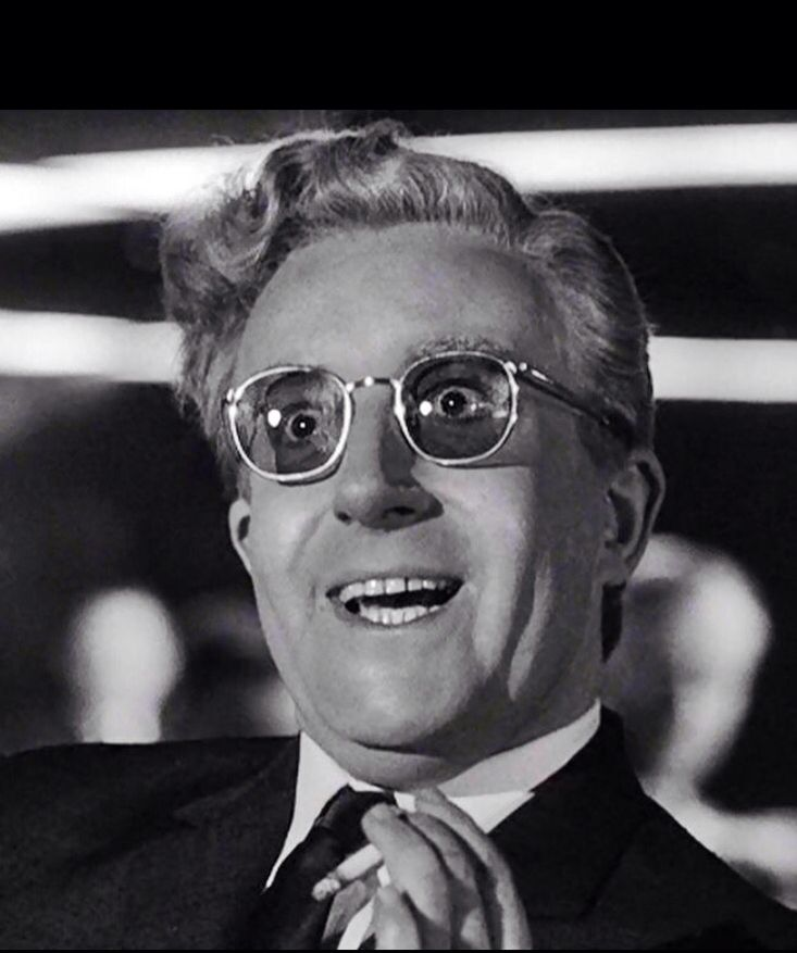 Peter Sellers As Dr Strangelove In Dr Strangelove Or: Peter Sellers As Dr. Strangelove, 1964.